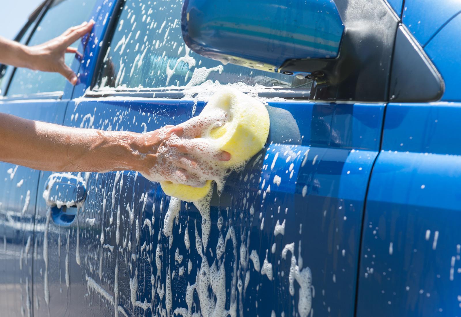 洗車、鉄粉などの除去、マスキング